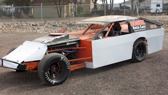 Imca Modified Race Car Without Chassis